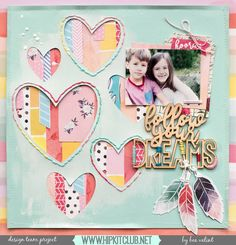 """88 Likes, 1 Comments - Hip Kit Club Scrapbooking Kits (@hipkitclub) on Instagram: """"Create a bright and fun layout using the #january2017 #hipkits just as designer @beavalint has…"""""""
