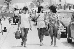 Arpoador Rio de Janeiro, anos 60