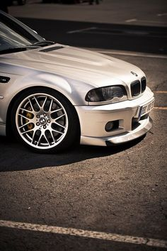 E46 M3 | BMW M series | Bimmer | White | chrome | BMW USA | Dream Car | car photography | Schomp BMW