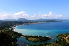 Baracoa Cuba | Baracoa as viewed from the lookout point in Maya Yaragua. The Boca de ...
