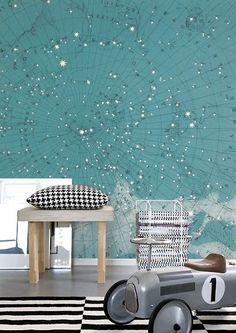 Wandbild Atlas of Astronomy von Rebel Walls