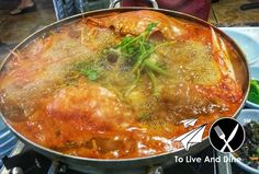 Ondal's Crab Stew.  Review link in bio! http://ift.tt/1UANncf #ToLiveAndDine #Foodie #Travel #Wanderlust #Comedy #Blog