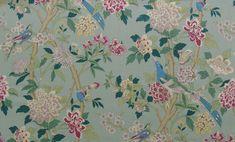 Hydrangea Bird | GP & J Baker - Fabulous Fabrics