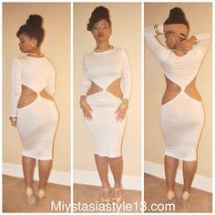 Cocaine white dress