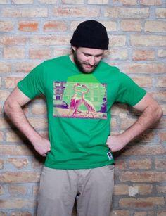 "T-Shirt ""Pelican Dance"" aus Baumwolle"