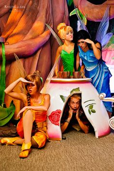 The Fairies playing Hide n' Seek with a guest...<3