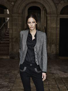 MOS MOSH    Marley Naomi Jeans, Dolce Blazer, Tilda Shirt and Dolce  Waistcoat 6ed730e7cdf3