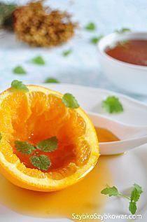 Syrop pomarańczowy deserowy — Szybko Szybkowar