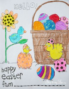 Printable Easter Col