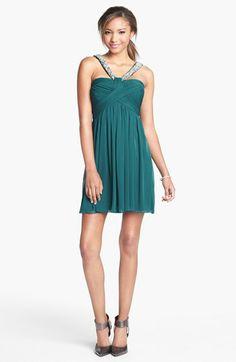 #Embellished Pleat Bodice #Dress Get 5% cash back: http://www.studentrate.com/lakeforest/get-lakeforest-student-deals/Nordstrom-Student-Discounts--/0