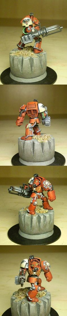 Blood Ravens Terminator With Assault Cannon