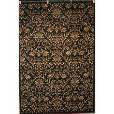 Black Rug 5'3 x 7'7 Area Carpet Persian Oriental Antique Floor Mat Home Garden