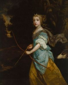 Mary II (1662-1694) when Princess, circa 1672 - Sir Peter Lely - The Athenaeum