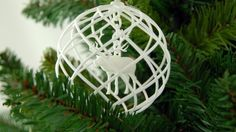 Rudolph 3D printed in a Christmas Decoration by imaterialise.