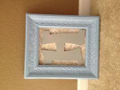 DIY Monogram Monogram Wall Art, Diy Monogram, Monogram Initials, Diy Stuff, Frame, Gifts, Ideas, Home Decor, Bebe