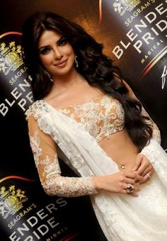 Priyanka Chopra is actually the prettiest person with the most beautiful sarees!