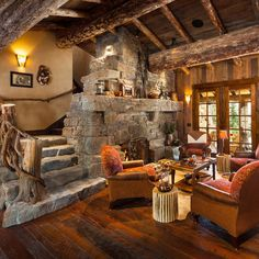 Rustic cabin interiors old west style architecture inspired rustic log cabin chalet in rustic english cottage interiors