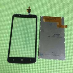 Best Working A388t LCD Display +Touch Screen Digitizer For Lenovo A388T Mobile Phone Sensor Repair Parts Black White #Affiliate