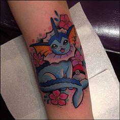 Vaporeon tattoo