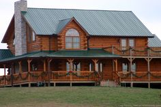 Log home wrap around