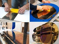 Processen: david derksen and lex pott: oxidized transience mirrors.
