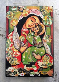 Madonna and Child art