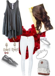"""""""My every day look:)"""" by ari-directioner1 ❤ liked on Polyvore"""