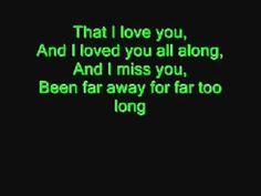 The Best Song Ever!! Far Away  Nickelback Lyrics   YouTube