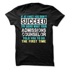 Admissions Counselor - #hoodies/sweatshirts #hoodie novios. GET => https://www.sunfrog.com/LifeStyle/Admissions-Counselor-55695628-Guys.html?68278
