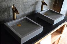 concrete bathroom sink bathroom sink gray basalt stone concrete look moon concrete sink concrete bathroom sink top Stone Bathroom Sink, Bathroom Sink Tops, Steam Showers Bathroom, Bathroom Layout, Stone Sink, Bathroom Ideas, Bathroom Interior, Modern Bathroom, Small Bathroom