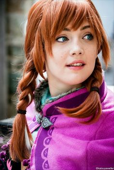 Anna #Frozen #EllicottCity2014