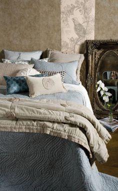Luxury Bedding l Bedspreads Comforters l Italian Sheet Sets Comforter Sets, Cozy Bed, House Styles, Luxury Bedding Sets, Bed, Bed Styling, Luxury Bedding, Beautiful Bedding, Bedroom