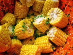 Daily*Dishin: Quick Thyme Corn Cobbettes