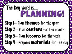 I recently led a workshop on how to simplify preschool lesson planning.  It was well-received, so I thought that I would share a few of the ideas here with you. Everyone has a different method for planning.  This is what works for me. Lesson planning is a 4-step process for me.  It begins long before... Read More »