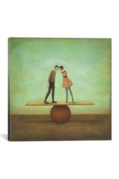 Image of  Finding Equilibrium by Duy Huynh Canvas Print