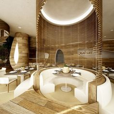 ♂ Commercial Interior Space Design Marriott - Serendipity by Marco Marotto, via Behance