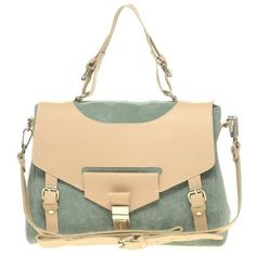 Just bought this- ASOS Leather and Suede Tucklock Satchel.