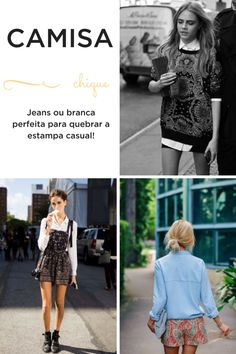 bandana e pasley com camisa jeans ou branca