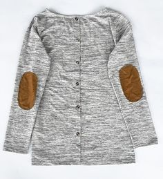 10% Off for Pre-order! Here is a secret style life-hack tip that every girl needs to know. That is Patch Me If You Can Button Top. The cozy factor is instantly raised! Of course, you'll look ah-mazing as well!