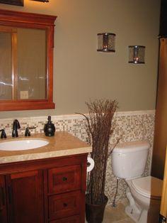 Hall Bathroom Remodel View more bathroom remodeling at http://www.dhrnj.com/bathrooms/ #bathroom #remodeling #renovations #dreamhome #nj