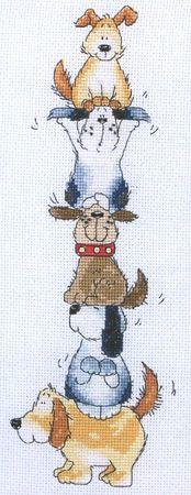 Cross-stitch Doggie Tower, part 1... Gallery.ru / Фото #1 - 047 - anethka
