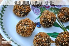Chocolate Pecan Truffles Recipe - Paleohacks