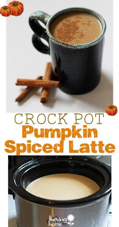 Pumpkin Spiced Latte Recipe - Perfect for a crowd!