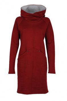 www.adatyte.com / #dress #woman #womenswear #clothes #hoodie #adatyte #red