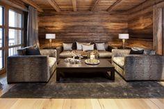Chalet Chalet N, Ski Lech, Austria, Ultimate Luxury Chalets Chalet Design, Chalet Style, Condo Design, Ski Chalet, Cabin Homes, Log Homes, Chalet Interior, Interior Design, Wooden House