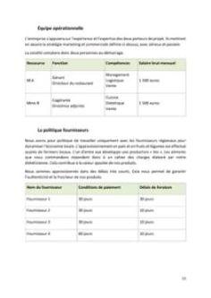 Business Plan Food Truck  Tlcharger Les Modles Word Et Excel
