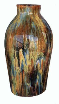 Catalina Pottery vase at the Catalina Island Museum