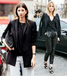 @Who What Wear - Find out how Kate Moss, Zoe Saldana, Jessica Alba, and more make the black blazer feel new again.