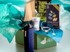 Pijon Box ... monthly gift boxes geared toward college students