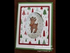 Creating Spinner Cards with the Stampin' Up Seasonal Chums Bundle - Laura's Stamp Pad - YouTube